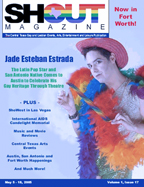 Jade Esteban Estrada on the cover of Shout Magazine